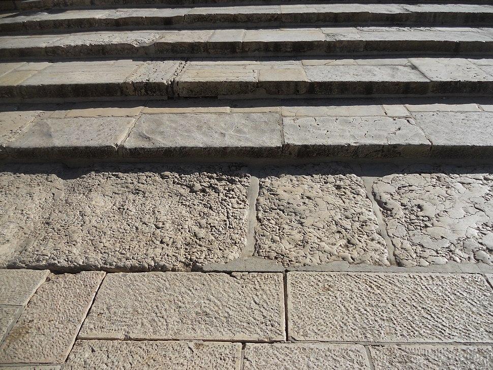 שרידים מבית המקדש בהר הבית