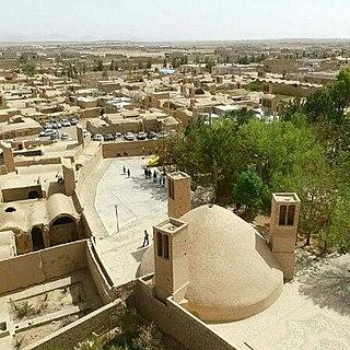 Sharifabad, Ardakan village in Yazd, Iran