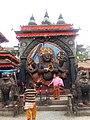 काल भैरव, वसन्तपुर दरवार क्षेत्र (Basantapur, Kathmandu) 21.jpg