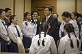 คณะนักเรียนโรงเรียนเซนต์ฟรังซีสซาเวียร์คอนแวนต์เข้าเยี - Flickr - Abhisit Vejjajiva (4).jpg