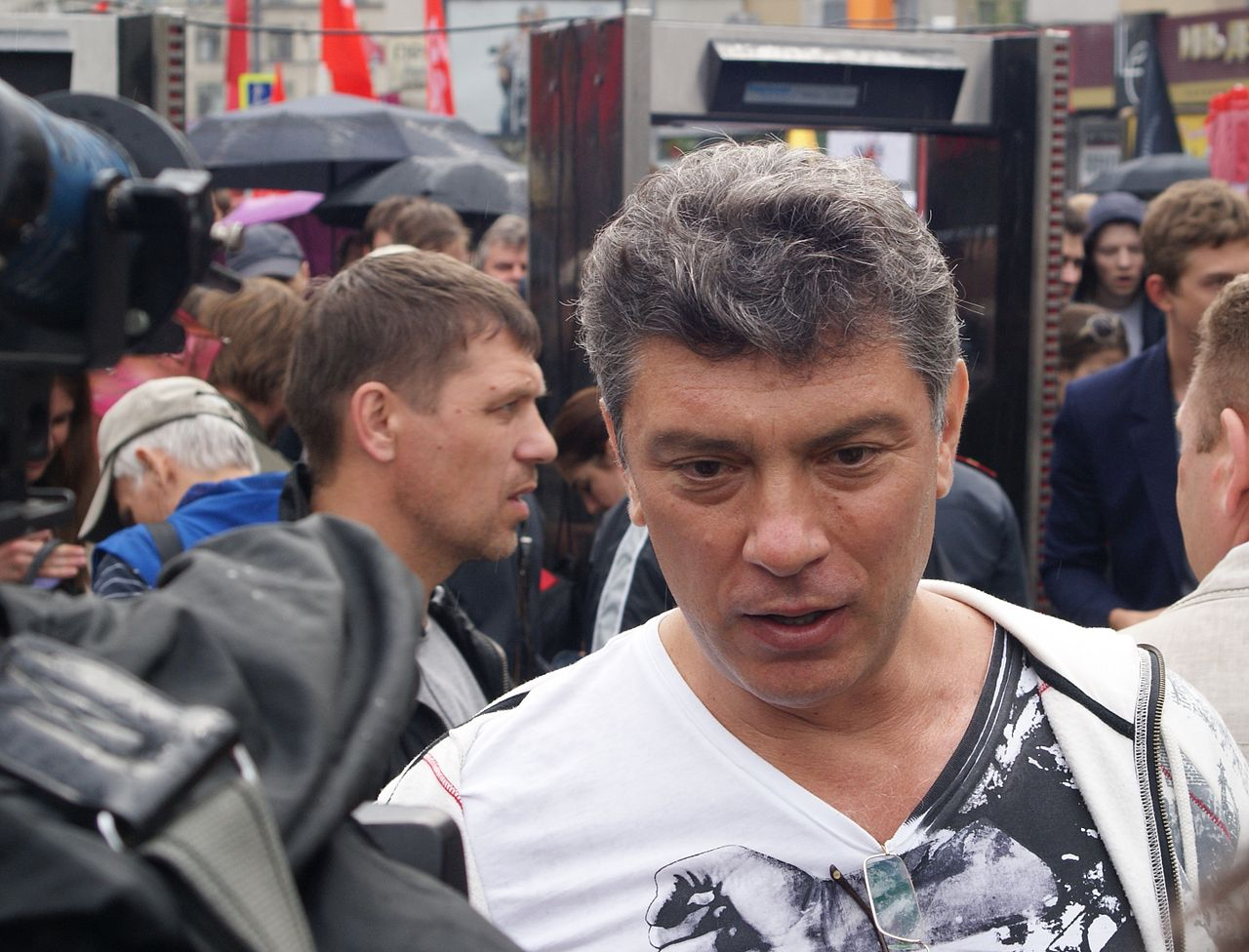 """March of a Million"" rally — Boris Nemtsov (7150827601).jpg"