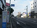 北海道道571号五稜郭公園線・函館市本町交差点(北海道道83号函館南茅部線重複)を起点側から見る.jpg