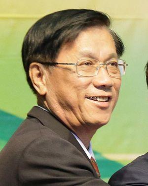 Nantou County - Lin Ming-chen, the incumbent Magistrate of Nantou County