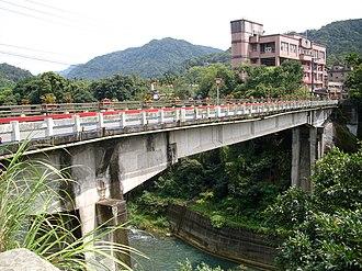 Shiding District - Image: 新北市石碇區楓林橋2