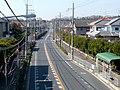 梅の里住宅中バス停付近 陸橋より - panoramio.jpg