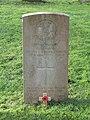 -2020-12-28 CWGC gravestone, Private E. A. Clark, Royal Norfolk Regiment, Cromer town cemetery.JPG