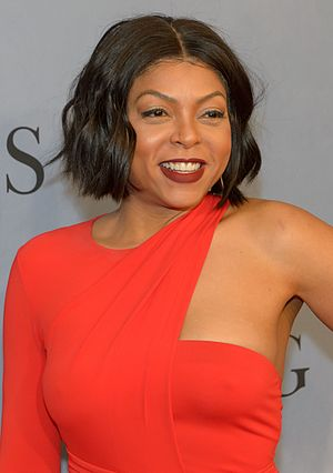 Taraji P. Henson - Henson at the premiere of Hidden Figures in 2016