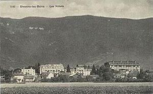 Divonne-les-Bains - Divonne-les-Bains, the hotels - approximately 1920