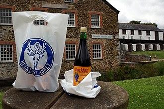 Buckfast Tonic Wine - A bottle of Buckfast Tonic Wine, bought from the Buckfast Abbey shop