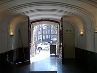 Main entrance at Herengracht