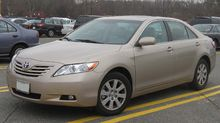 Toyota Camry Xle Us Pre Facelift