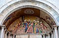 0 Venise, mosaïque du portail de la chapelle Zen - Basilique St-Marc.JPG