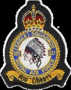 121 Eagle Squadron Crest