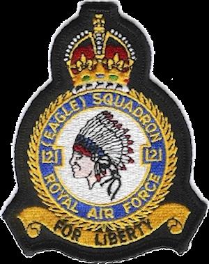 No. 121 Squadron RAF - Image: 121 Eagle Squadron Crest