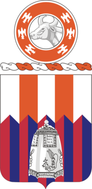 122nd Signal Battalion Coat of Arms