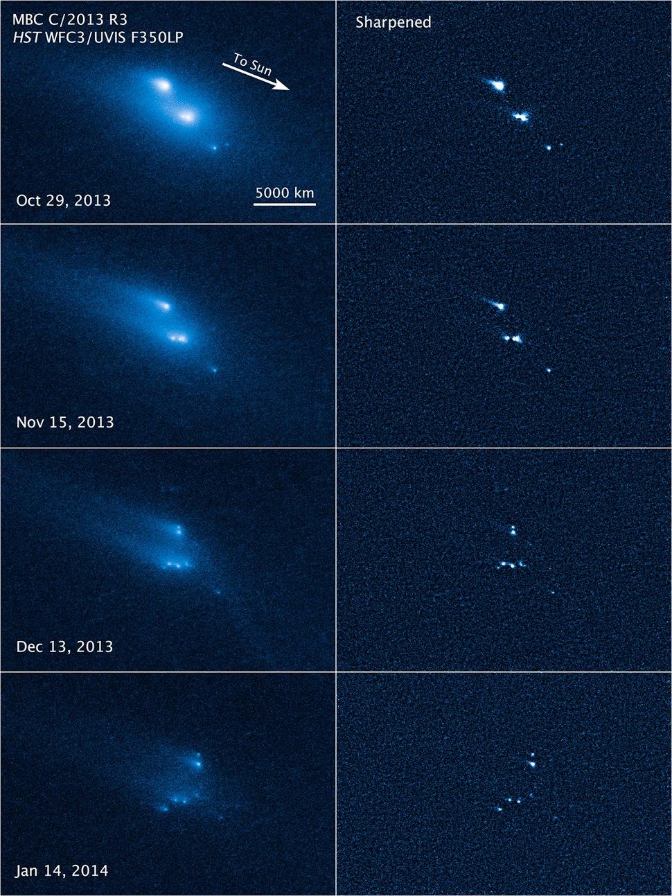14060-Asteroid-P2013R3-Disintegration-20140306
