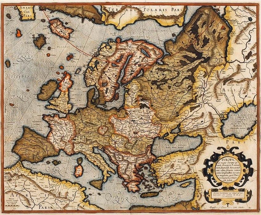 1595 Europa Mercator