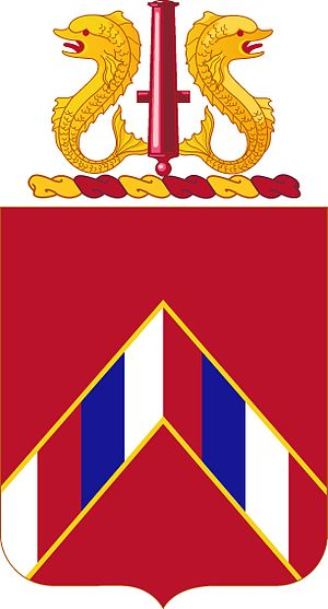 15th Coast Artillery (United States) - Coat of arms