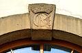 1682 1687 Portal Herrenstall Alter Marstall Hannover, Monogramm Georg I. Ludwig Herzog zu Braunschweig und Lüneburg, später Kurfürst von Braunschweig-Lüneburg, König von Großbritannien und Irland (01).jpg