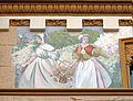 16 Casa Bernat i Creus, av. Tibidabo 27 (Barcelona), pintures de la façana.jpg