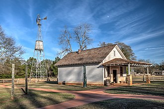 Jimmy Carter - The Carter family store (part of Carter's Boyhood Farm) in Plains, Georgia