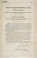 The text of Amendment XVII to the Constitution