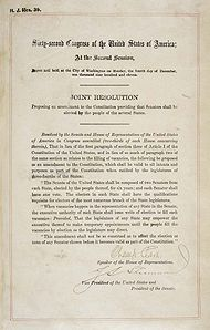 wiki united states government later amendments