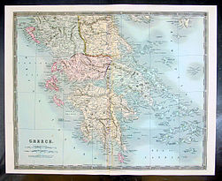 1834 Teesdale Map of Greece.jpg