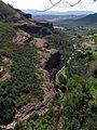 183 Extrem occidental dels cingles de Bertí, vora la vall de Sant Miquel.JPG