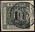 1853 1kr weiss Baden 135 Staufen Mi5.jpg