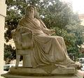 1863 - Milano - Fatebenesorelle - Luigi Marchesi, Statua Laura Visconti (1847) - Foto G. Dall'Orto, 22-Ott-2008.jpg