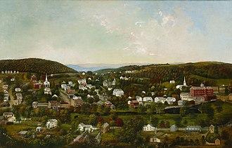 Winsted, Connecticut - Sarah E. Harvey, Winsted, Connecticut, ca. 1877, Princeton University Art Museum