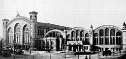 Stettiner-Bahnhof, Zeitschrift für Bauwesen 1904 [Public domain], via Wikimedia Commons