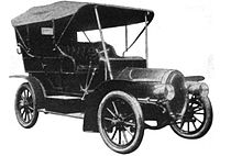Ariel 30 H.P. Four Cylinder Touring Car uit 1906