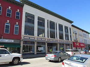 National Register of Historic Places listings in Kennebec County, Maine - Image: 190 Water Street, Augusta ME