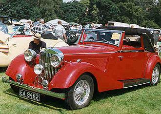 Jensen Motors - 1938 Jensen S-type drophead, 3.5 litre