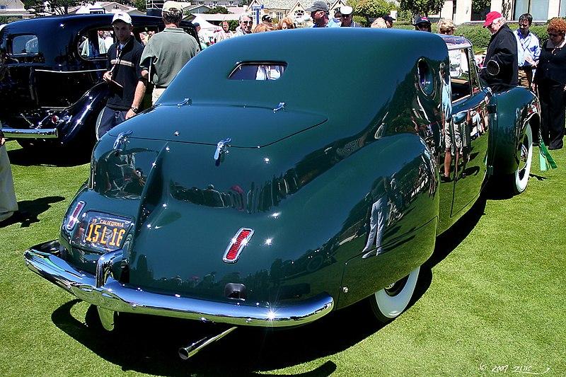 File:1941 Lincoln Continental Derham Coupe - rvr (4669198430).jpg