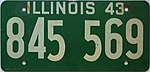 1943 Illinois passenger license plate.jpg