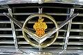 1955 Packard Caribbean badge, Model 5588, originally bought by Howard Hughes for Jean Peters - Automobile Driving Museum - El Segundo, CA - DSC01474.jpg