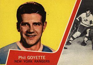 Phil Goyette - Image: 1963 Topps Phil Goyette