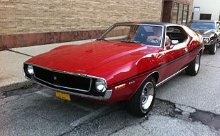 AMC Javelin Compact sized car produced by American Motors Corporation