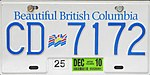 1985 British Columbia license plate CD 7172.jpg