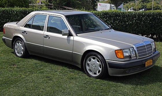 mercedes benz w124 wikiwand rh wikiwand com Drift Mercedes-Benz 250D Mercedes-Benz W126