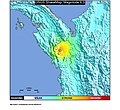 1996 Colombia-Panama earthquake ShakeMap.jpg