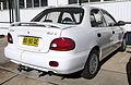 1996 Hyundai Excel (X3) LX sedan (2009-11-14).jpg
