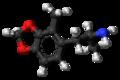 2-Methyl-MDA molecule ball.png