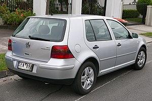 Volkswagen Golf Mk4 - Volkswagen Golf Generation 2.0 (Australia)