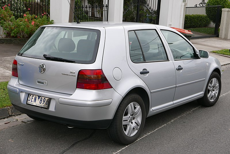 volkswagen golf gl  dr hatchback  spd manual wod