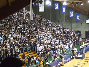 The Pavilion - The Pavilion student section