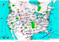 2006-03-18 Surface Weather Map NOAA.png